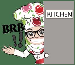Aaila Muslim Mah Top Chef V.Eng sticker #9306891