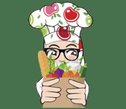 Aaila Muslim Mah Top Chef V.Eng sticker #9306892