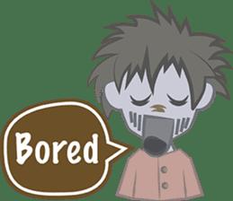 Zombie Chat Bubbles sticker #9504243