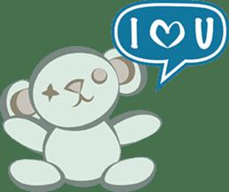 Zombie Chat Bubbles sticker #9504262