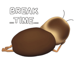 Peter (cockroach) sticker #9693505