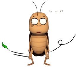 Peter (cockroach) sticker #9693521