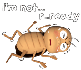 Peter (cockroach) sticker #9693524