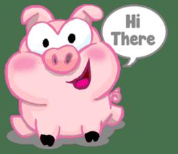 Iggy The Piggy sticker #10661840