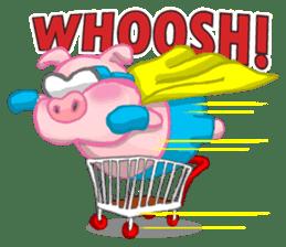 Iggy The Piggy sticker #10661848