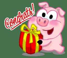 Iggy The Piggy sticker #10661855