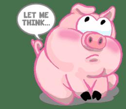 Iggy The Piggy sticker #10661860