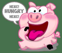 Iggy The Piggy sticker #10661861