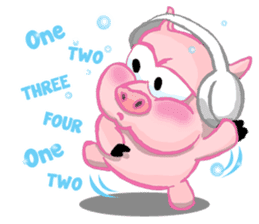 Iggy The Piggy sticker #10661865