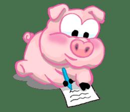 Iggy The Piggy sticker #10661873