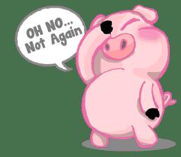 Iggy The Piggy sticker #10661879