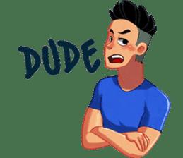 Urban Dude sticker #10725496