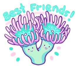 Cute Corals sticker #10809354