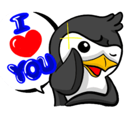 Pipo the Playboy Penguin sticker #11030565
