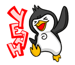 Pipo the Playboy Penguin sticker #11030580