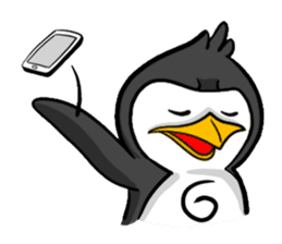 Pipo the Playboy Penguin sticker #11030585