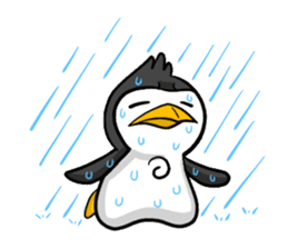 Pipo the Playboy Penguin sticker #11030586