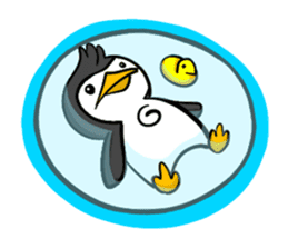 Pipo the Playboy Penguin sticker #11030594