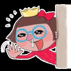 The runny nose princess