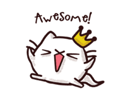 Fab Cat: Animated Life sticker #11874728