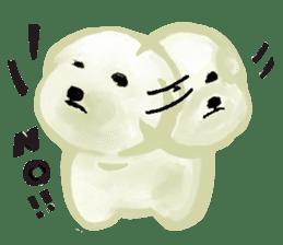 DOGGY KUMA HAPPY LIFE!!!! sticker #11893310