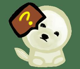DOGGY KUMA HAPPY LIFE!!!! sticker #11893312