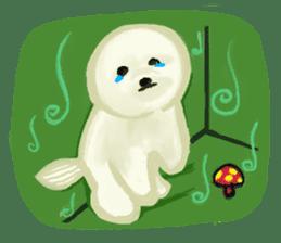 DOGGY KUMA HAPPY LIFE!!!! sticker #11893316