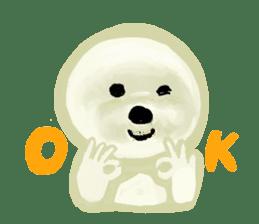 DOGGY KUMA HAPPY LIFE!!!! sticker #11893319