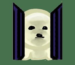 DOGGY KUMA HAPPY LIFE!!!! sticker #11893321