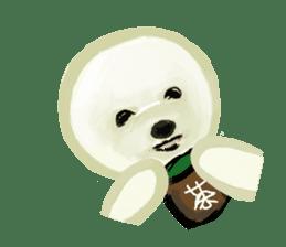 DOGGY KUMA HAPPY LIFE!!!! sticker #11893322