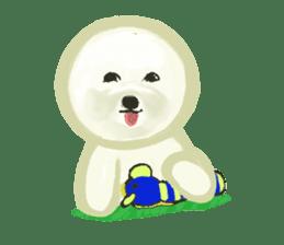 DOGGY KUMA HAPPY LIFE!!!! sticker #11893329