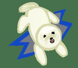 DOGGY KUMA HAPPY LIFE!!!! sticker #11893330