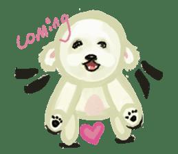 DOGGY KUMA HAPPY LIFE!!!! sticker #11893333