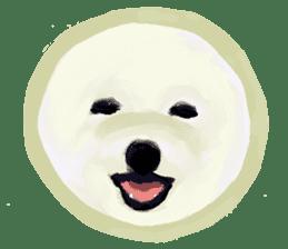 DOGGY KUMA HAPPY LIFE!!!! sticker #11893334