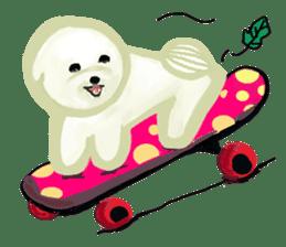 DOGGY KUMA HAPPY LIFE!!!! sticker #11893339