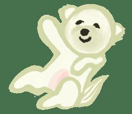 DOGGY KUMA HAPPY LIFE!!!! sticker #11893342