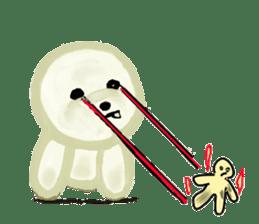 DOGGY KUMA HAPPY LIFE!!!! sticker #11893344