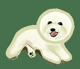 DOGGY KUMA HAPPY LIFE!!!! sticker #11893348