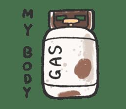 Gluta & Gollum sticker #12264283