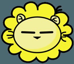 BEN LION LOVE YOU FACE STICKER sticker #12410748