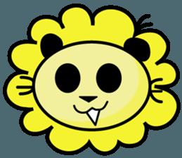 BEN LION LOVE YOU FACE STICKER sticker #12410755