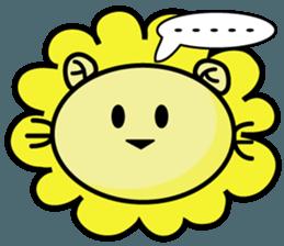 BEN LION LOVE YOU FACE STICKER sticker #12410767