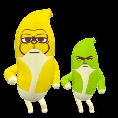 SUPER BANANA Caesar & Robin