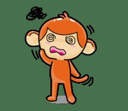 Monkey and Pig Nori AiKa 2 sticker #13007982