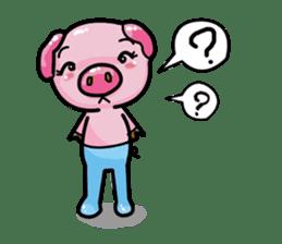Monkey and Pig Nori AiKa 2 sticker #13007985