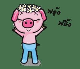 Monkey and Pig Nori AiKa 2 sticker #13008006