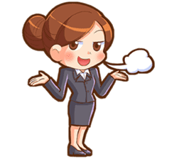 Amazing working woman sticker #13226524