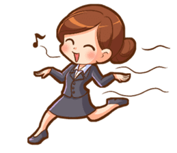 Amazing working woman sticker #13226535