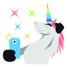 Unicorn Life: Emoji stickers by EmojiOne sticker #13783902