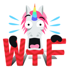 Unicorn Life: Emoji stickers by EmojiOne sticker #13783911